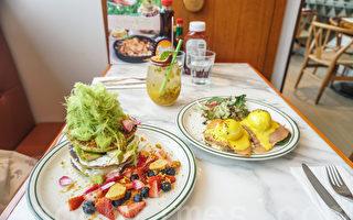 主打健康餐单的美式餐厅