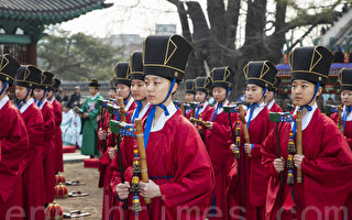 組圖:韓國春季釋奠大祭 古禮紀念孔子