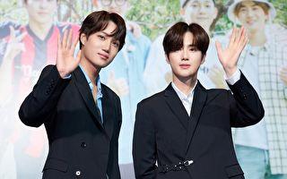 EXO《爬梯子》在台庆功 双帅秀台语会粉丝