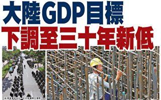 GDP目标降至30年新低 李克强24次提风险