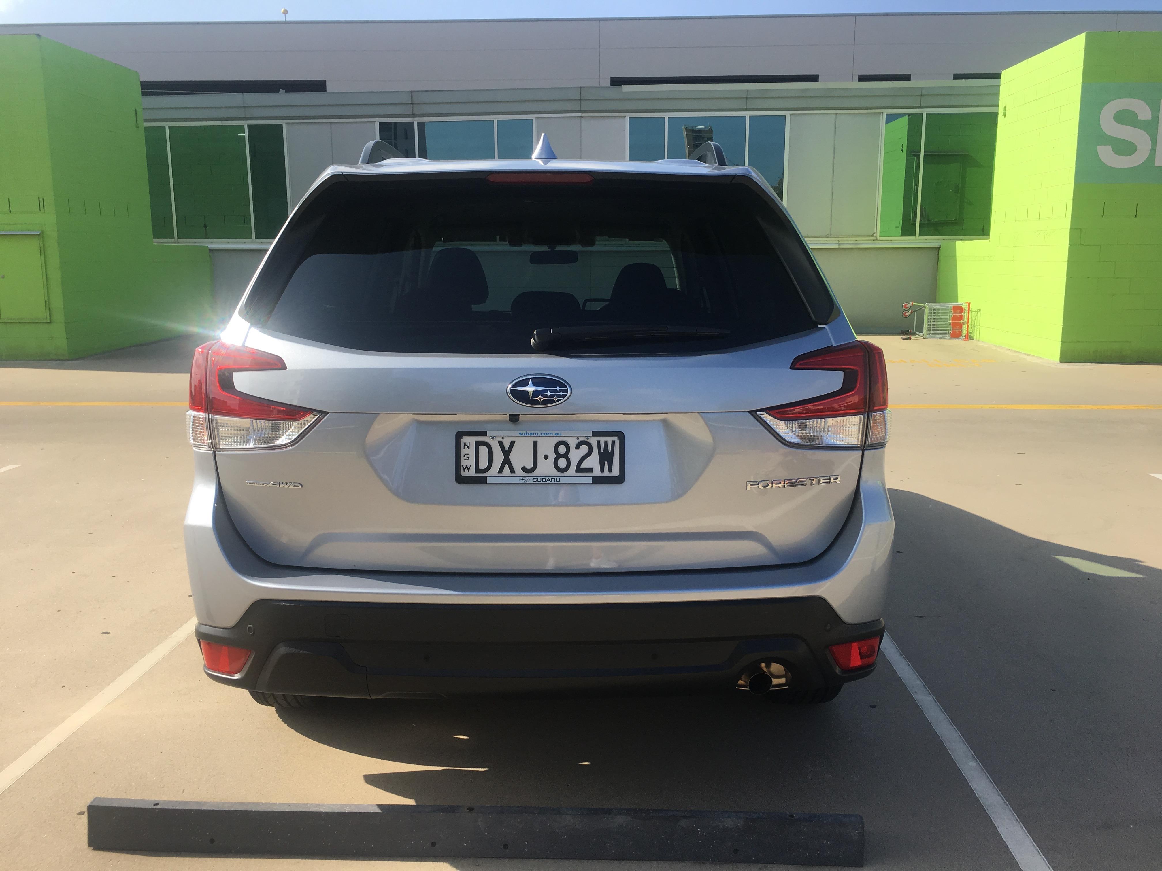 试驾斯巴鲁森林人——Subaru Forester 2019