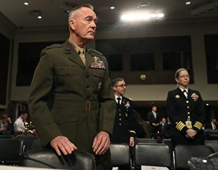 美國參謀首長聯席會議主席鄧福德(圖)提出警告,Google在中國所做工作讓中共人民解放軍受益。