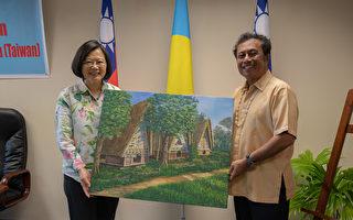 蔡英文访问帛琉 敲定台帛6月增航班