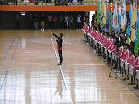 參賽選手代表宣誓。