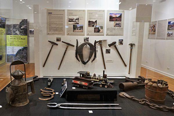 紀念鐵路華工對美貢獻 「華工與鐵路圖片展」華裔博物館開展