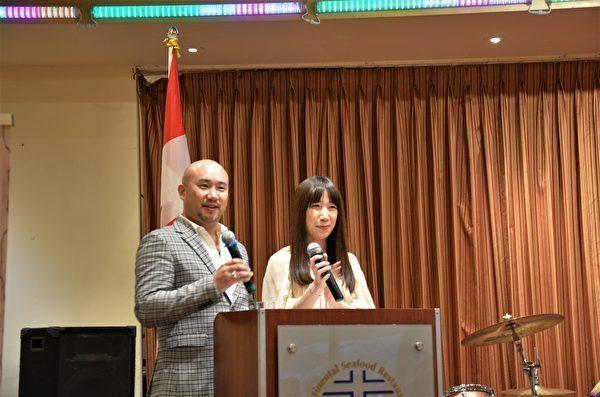 大溫哥華台灣同鄉會舉辦春酒晚宴迎接新年,現場嘉賓如雲,高朋滿座。