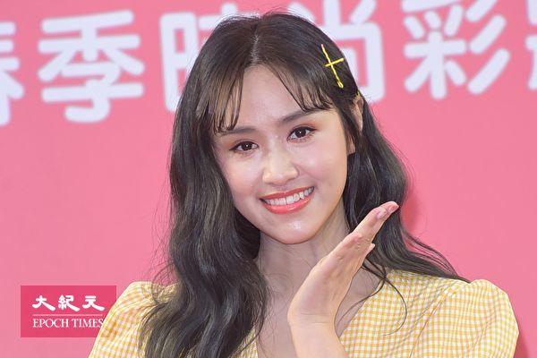 吴姗儒于3月16日在台北担任某美妆品牌2019春季时尚彩妆秀活动大使