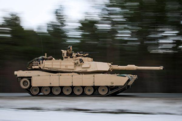 M1艾布蘭坦克。