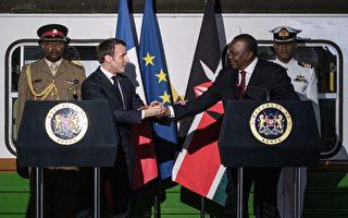 马克龙访问非洲三国 拟削弱中共扩张野心