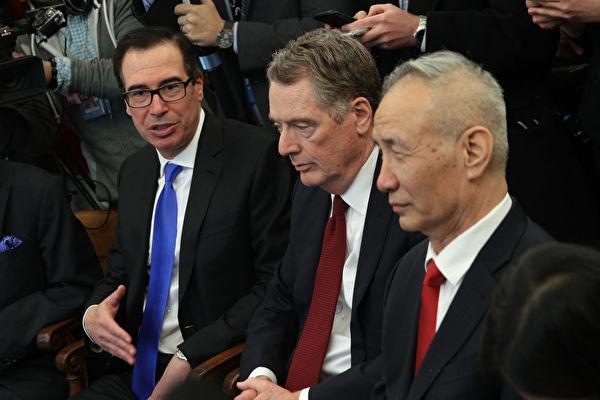 美中高级官员计划下两周举行两轮贸易谈判