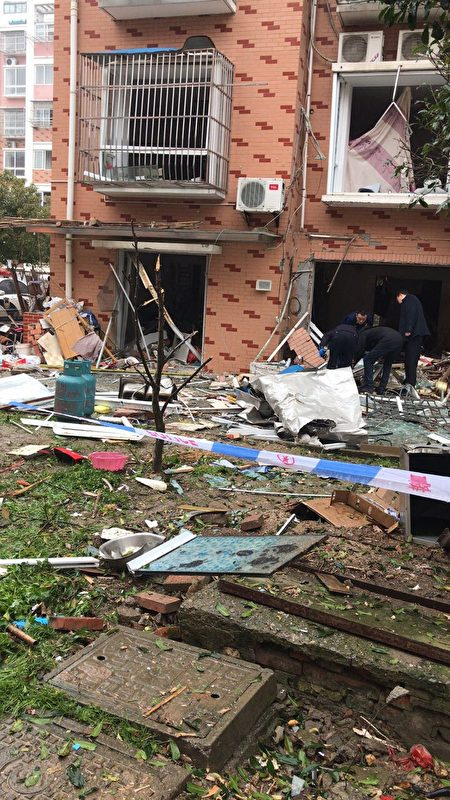 江蘇一小區爆炸現場圖片傳出 居民揭露內情