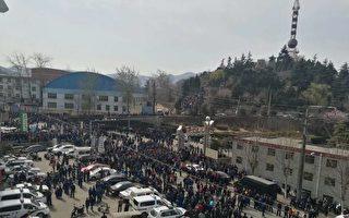 邯鄲天津鐵廠數千職工維權 遭千警包圍鎮壓