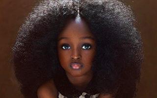 尼日利亚6岁女童美眸空灵 网封世界最美女孩