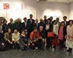 图:台湾师范大学9位校友联手举办《师美展》,展示师大校友的艺术才气与对美的不懈追求。