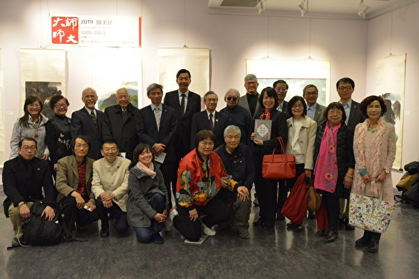 圖:台灣師范大學9位校友聯手舉辦《師美展》,展示師大校友的藝術才氣與對美的不懈追求。