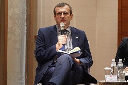歐洲議會人權小組委員會副主席蒲睿達(Cristian Dan Preda)2月22日訪台談到,歐洲議會推動敦促歐盟各成員國的人權問責法立法,盼形成歐洲共識。