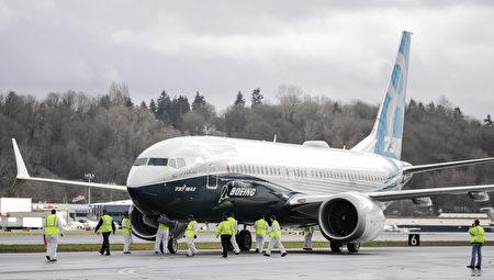 图为被多国停飞的波音737 MAX 8客机。