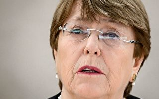 联合国人权事务主席米歇尔·巴切莱特(Michelle Bachelet)3月6日再度要求中共让联合国进入新疆地区进行调查。(Fabrice Coffrini/AFP/Getty Images)