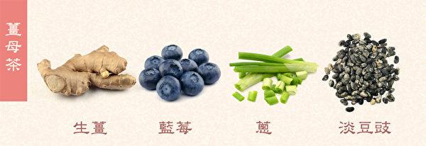 感冒初期食疗方之:姜母茶,可缓解初期感冒症状。(Shutterstock/大纪元制图)