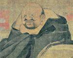 南宋 梁楷《布袋和尚圖》,絹本,上海博物館藏。(公有領域)