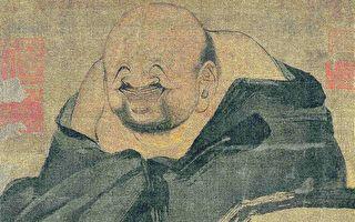 南宋 梁楷《布袋和尚图》,绢本,上海博物馆藏。(公有领域)