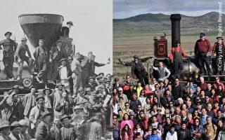 「華工建造了鐵路—鐵路造就了美國」圖片展 本週六美洲華裔博物館開幕