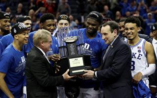 「瘋狂三月」大學籃球開戰 杜克ACC奪冠