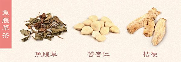 身體發燒或發熱時,可以飲用魚腥草茶。(Shutterstock/大紀元製圖)