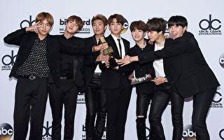 BTS首登英官方排行榜之首 三摘Billboard 200冠军