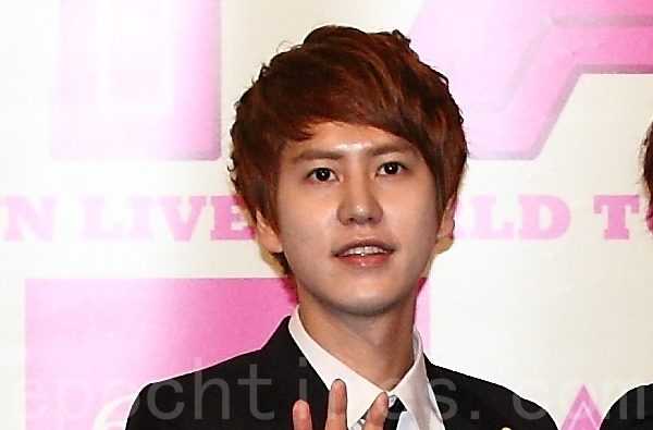 Super Junior成员圭贤资料照。(全景林/大纪元)