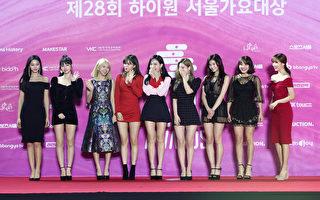 TWICE迷你七辑摘韩国六榜及25国iTunes冠军