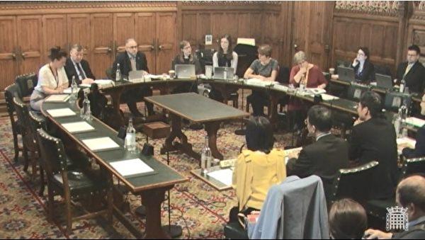 台英官方交流 科技部长英国会分享台湾经验
