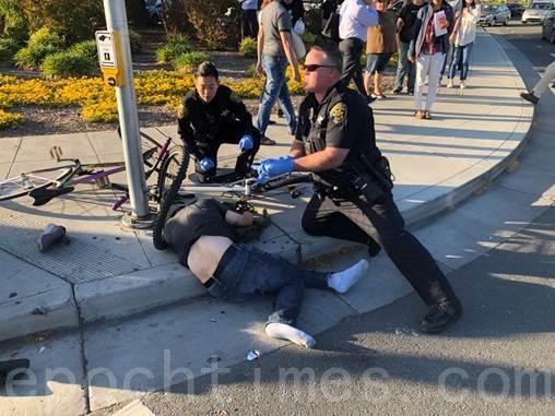 硅谷桑尼维尔司机有意加速撞向行人 警方:非恐怖袭击