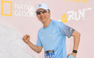 響應地球日路跑 庾澄慶以身作則輕鬆跑4K