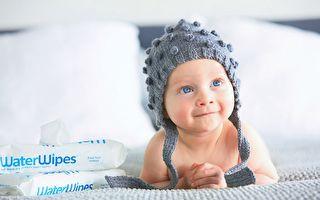 最純淨的嬰兒濕巾 如同純水擦拭