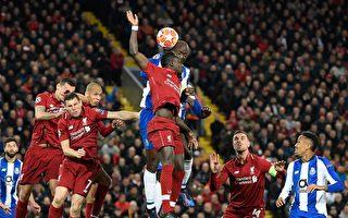 歐冠八強戰:熱刺勝曼城 利物浦兩球領先