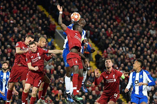 歐冠八強戰首回合:熱刺擊敗曼城 利物浦兩球領先