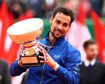 蒙特卡洛网球赛 弗格尼尼创意大利历史夺冠