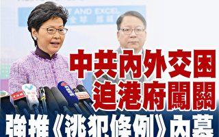 中共內外交困 迫港府強推引渡法例內幕