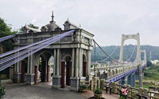 巨龙般大溪桥 盘踞大汉溪