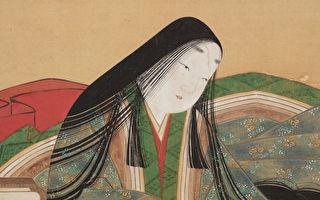 土佐光吉,《紫式部肖像》立軸,絹本設色。(大都會藝術博物館提供)