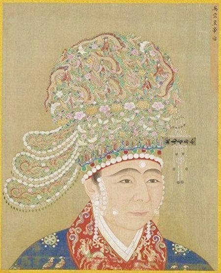 宋英宗高皇后像,出自《宋代后半像冊》,北京故宮南熏殿舊藏。(公有領域)