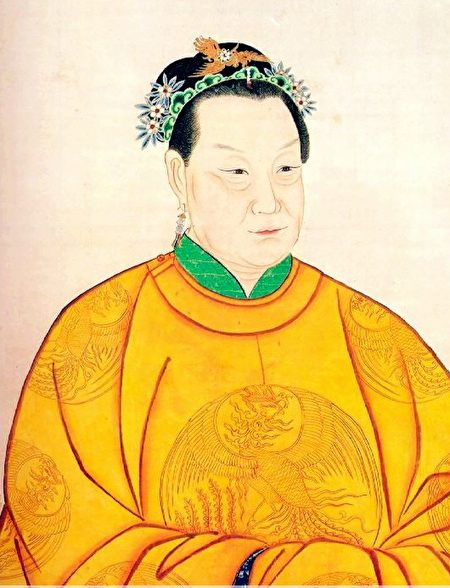 马皇后画像,台北故宫博物院藏。(公有领域)