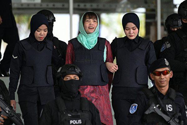 金正男命案越南女嫌伤害罪成 5月初获释