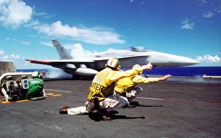 边指挥战机边跳舞 美海军航母幽默影片热传