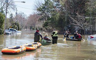 洪峰預計本週中到達 首都地區災情或持續數週