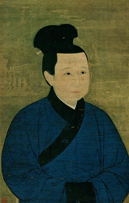 宋哲宗孟皇后像。(公有领域)