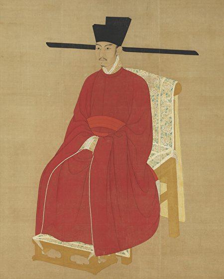 宋哲宗赵煦画像。(公有领域)