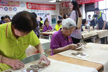宜兰县长林姿妙到永美社区参加108年社区照顾关怀据点2.0-C级巷弄长照站相见欢活动。