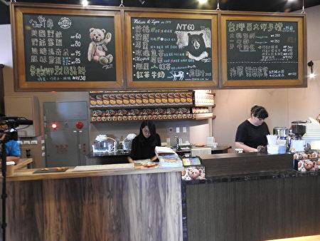 全新風貌的「野爺鍋物」進駐故宮南院嘉會廳,櫃台擺設別具風格。